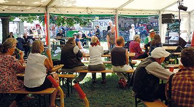 Festivalhygge i teltet