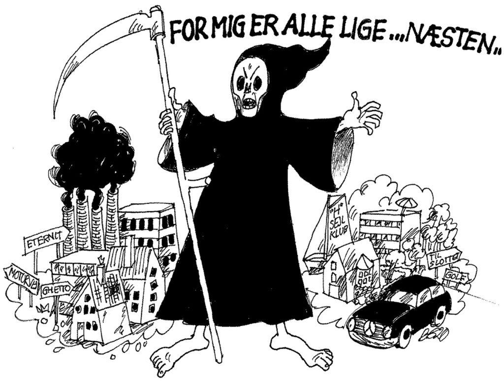 Tegning: Bjørn Gemzøe